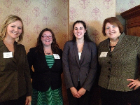 Andrea Babjack, Sarah Gregg, Elizabeth Tittle and Laura Wallerstein