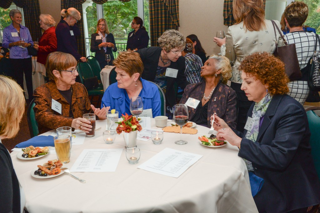 Reception for ATHENA finalists and recipients October 2015