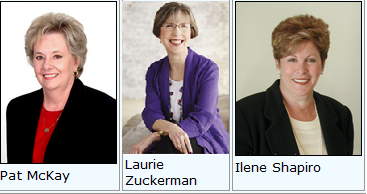 jan 2015 Pat McKay, Laurie Zuckerman and Ilene Shapiro