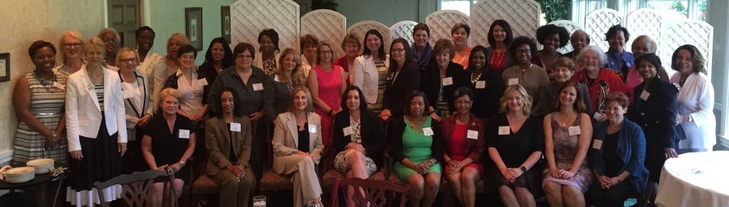 More than 100 were in attendance for the reception of New Women Leaders at the ATHENA AKRON event on June 5, 2015.