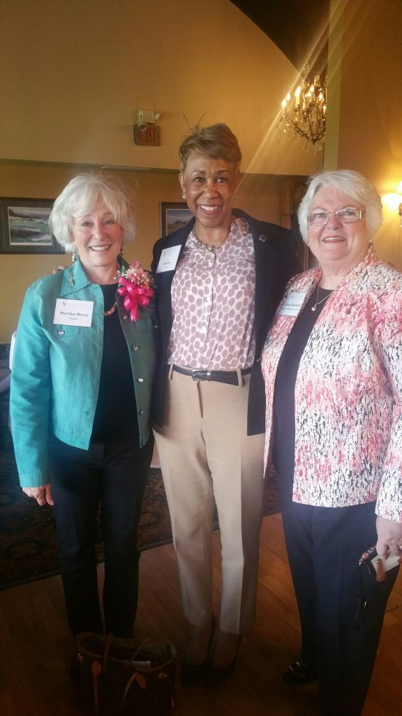 Martha Mertz, Shirley Smith and Ellen Ruddock